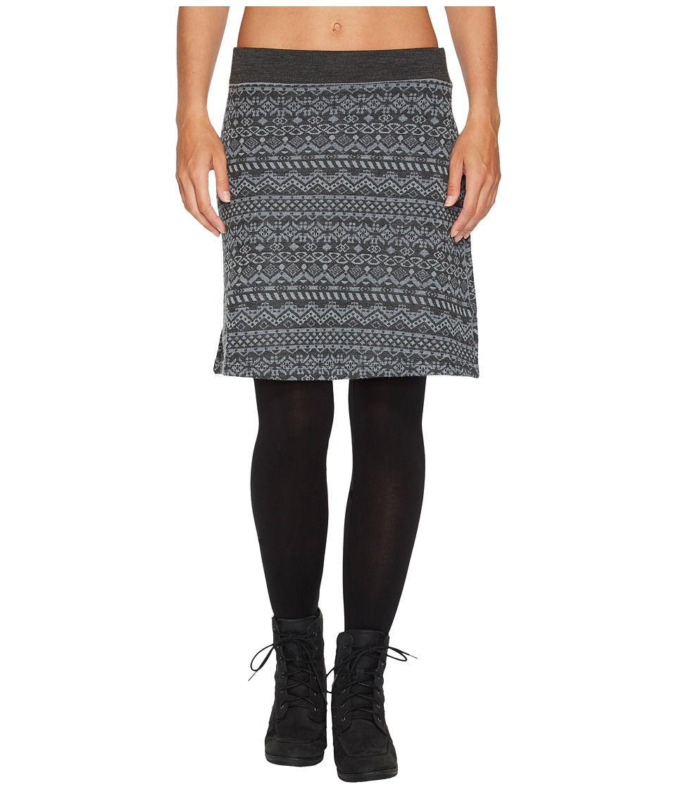 KUHL Adriana Skirt (Charcoal) Women
