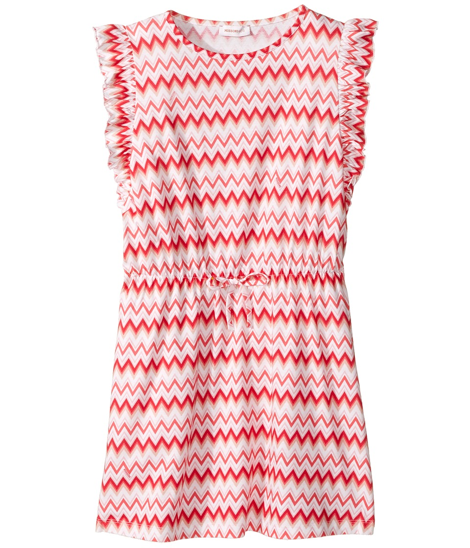 Missoni Kids - Printed Zigzag Dress (Big Kids) (Pink) Girl's Dress