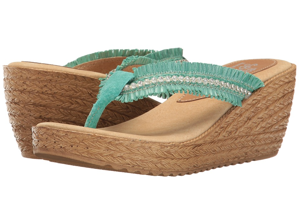 Sbicca - Vilana (Turquoise) Women's Shoes
