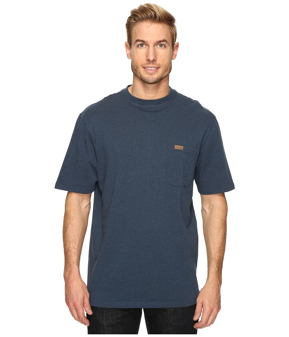 Pendleton - S/S Deschutes Pocket Shirt (Deep Blue Heather) Men's T Shirt