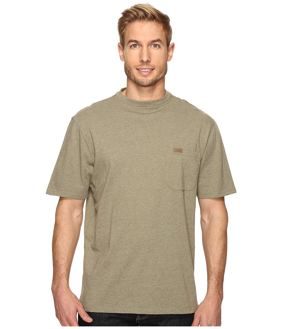 Pendleton - S/S Deschutes Pocket Shirt (Sage Green Heather) Men's T Shirt