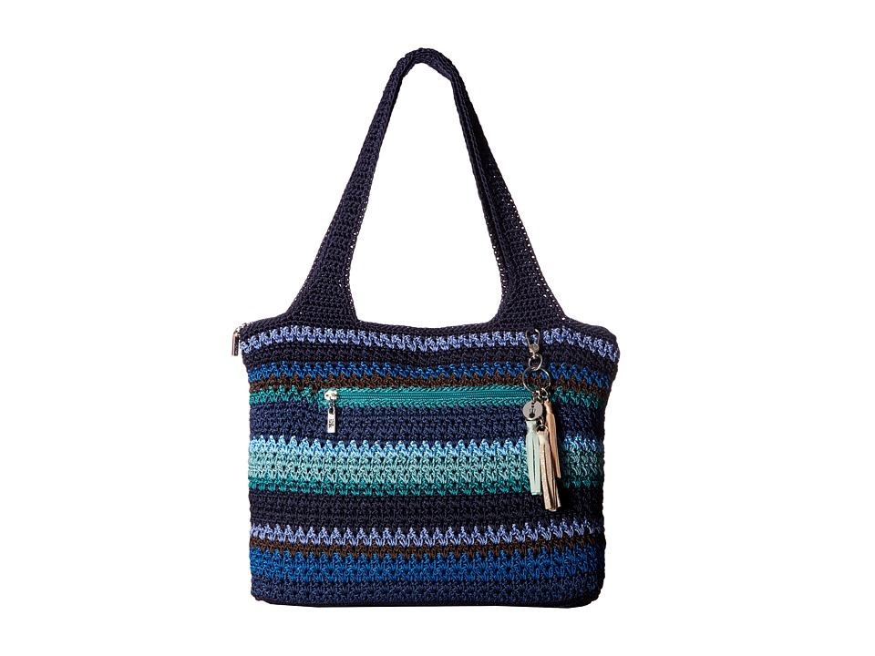 The Sak - Casual Classics Large Tote (Atlantis Stripe) Tote Handbags