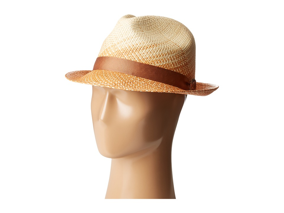 CARLOS by Carlos Santana - Spectrum Dip-Dyed Fedora (Natural) Fedora Hats