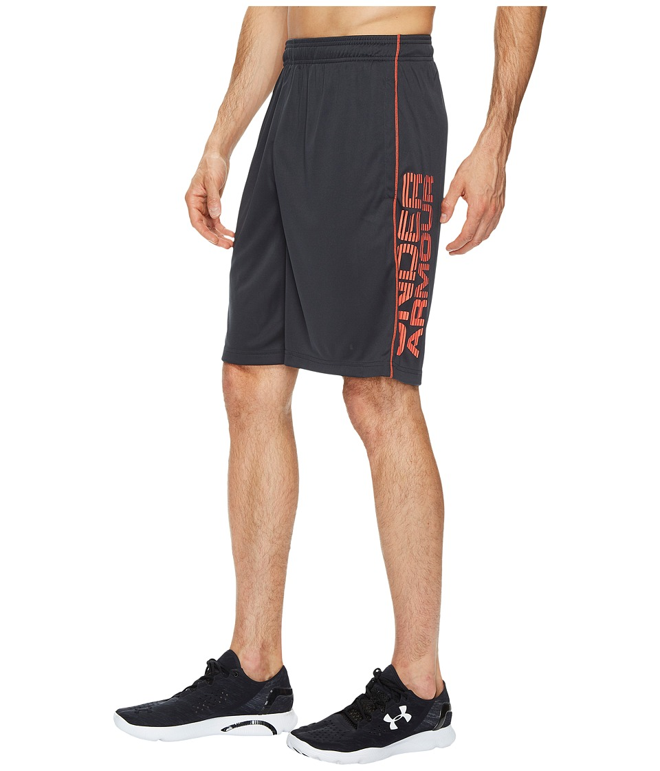 Under Armour - UA Tech Graphic Shorts (Anthracite/Marathon Red) Men's Shorts