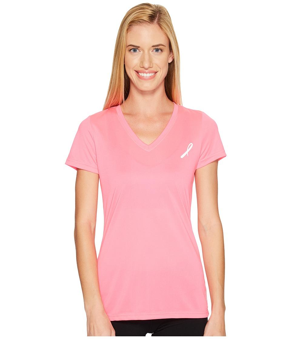 Reebok - Avon Poly Tee (Pink) Women's T Shirt