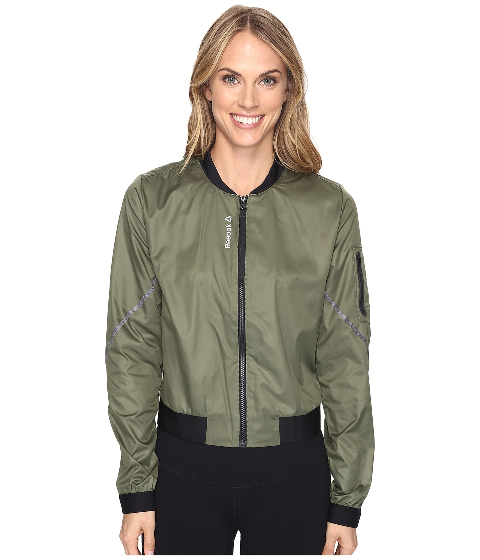 Reebok - Core Jacket (Green) Women's Coat