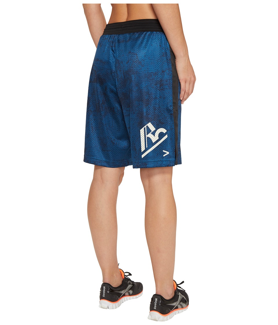 Reebok - RNF Boxing Shorts (Blue) Women's Shorts