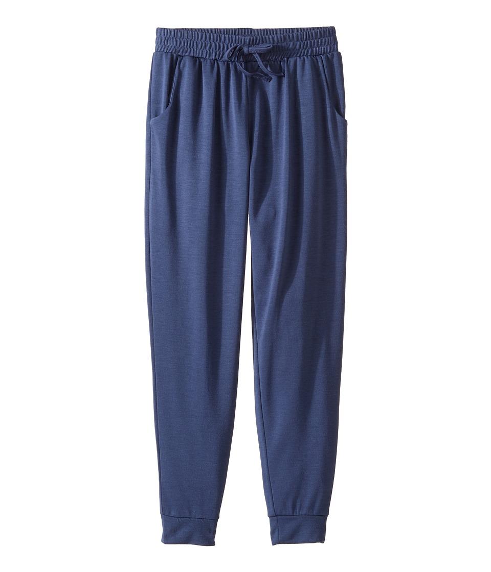 Splendid Littles - Jogger Pants (Big Kids) (Navy) Girl's Casual Pants