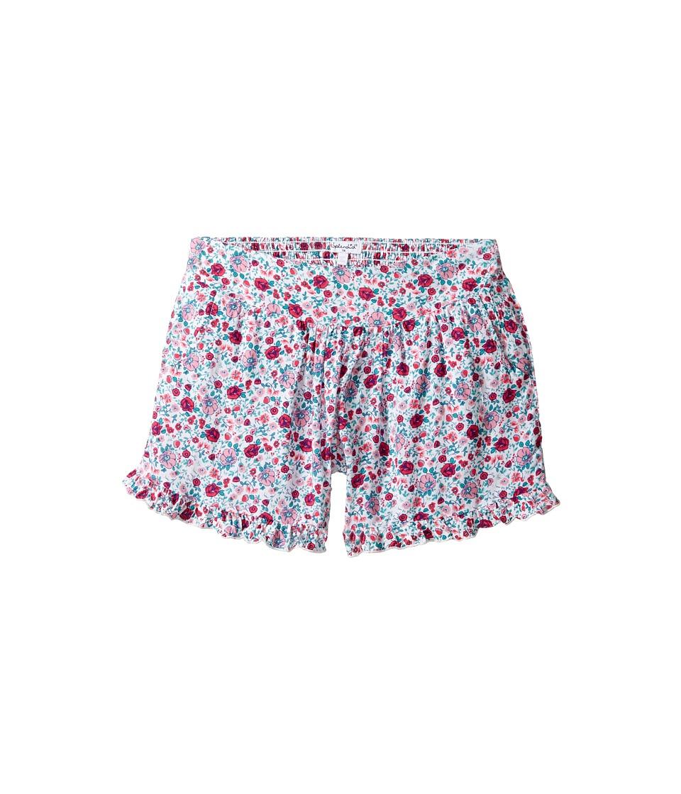 Splendid Littles - All Over Print Shorts (Big Kids) (Dark Coral) Girl's Shorts