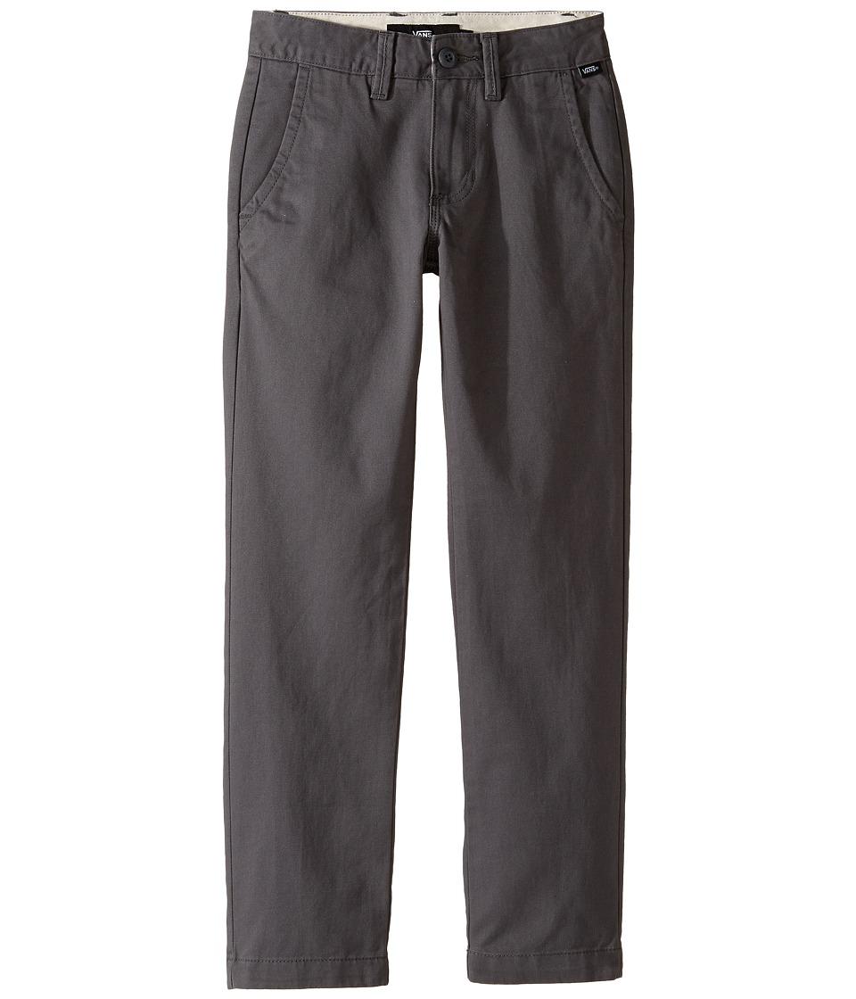 Vans Kids - Authentic Chino Pants (Little Kids/Big Kids) (Gravel) Boy's Casual Pants