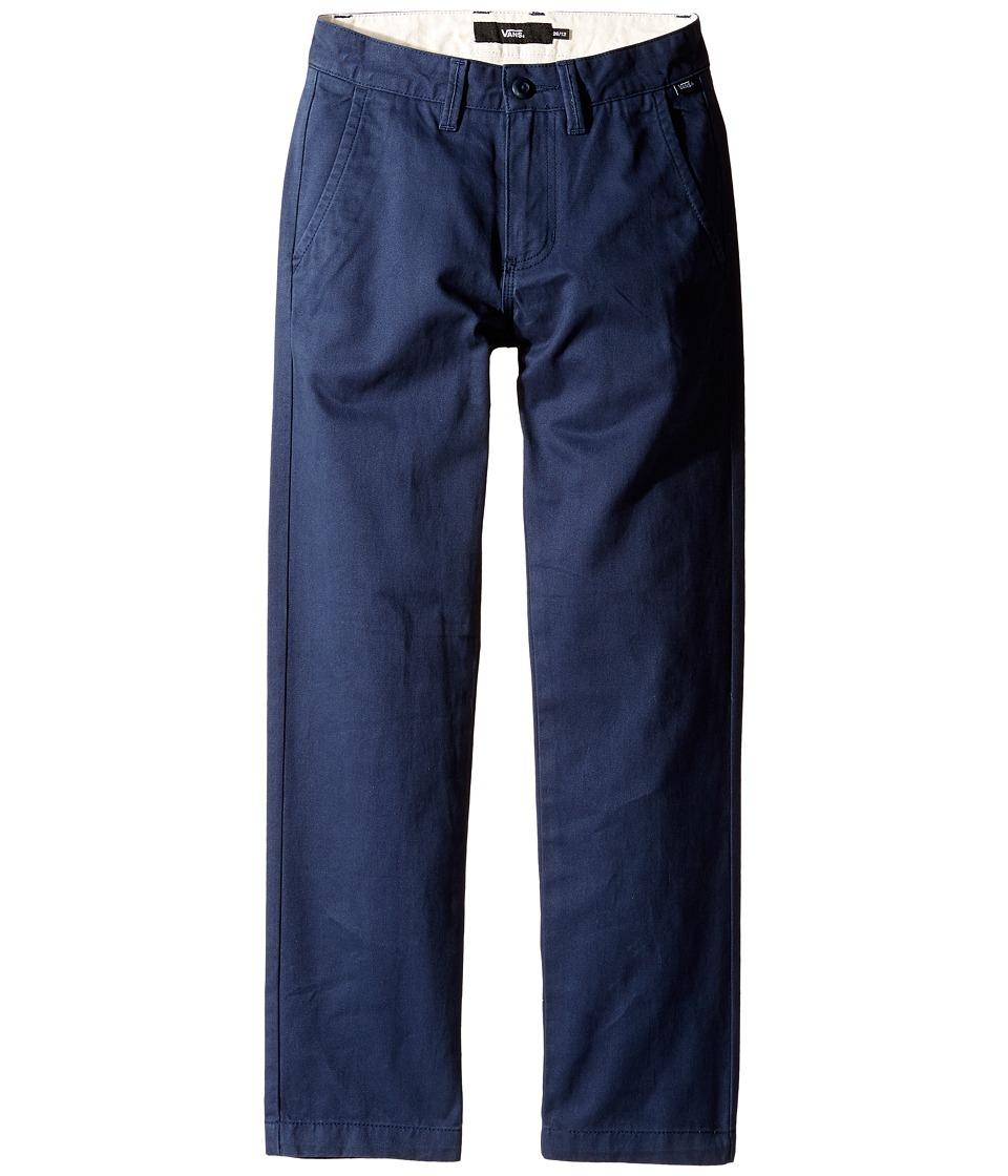 Vans Kids - Authentic Chino Pants (Little Kids/Big Kids) (Dress Blues) Boy's Casual Pants