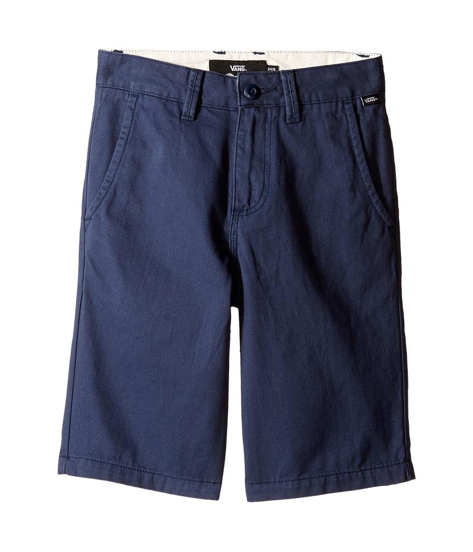 Vans Kids - Authentic Shorts (Little Kids/Big Kids) (Dress Blues) Boy's Shorts