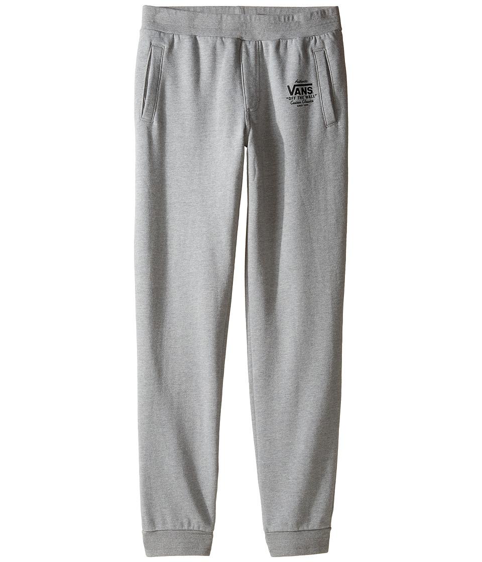 Vans Kids - Holder Fleece Pants (Big Kids) (Cement Heather) Boy's Casual Pants