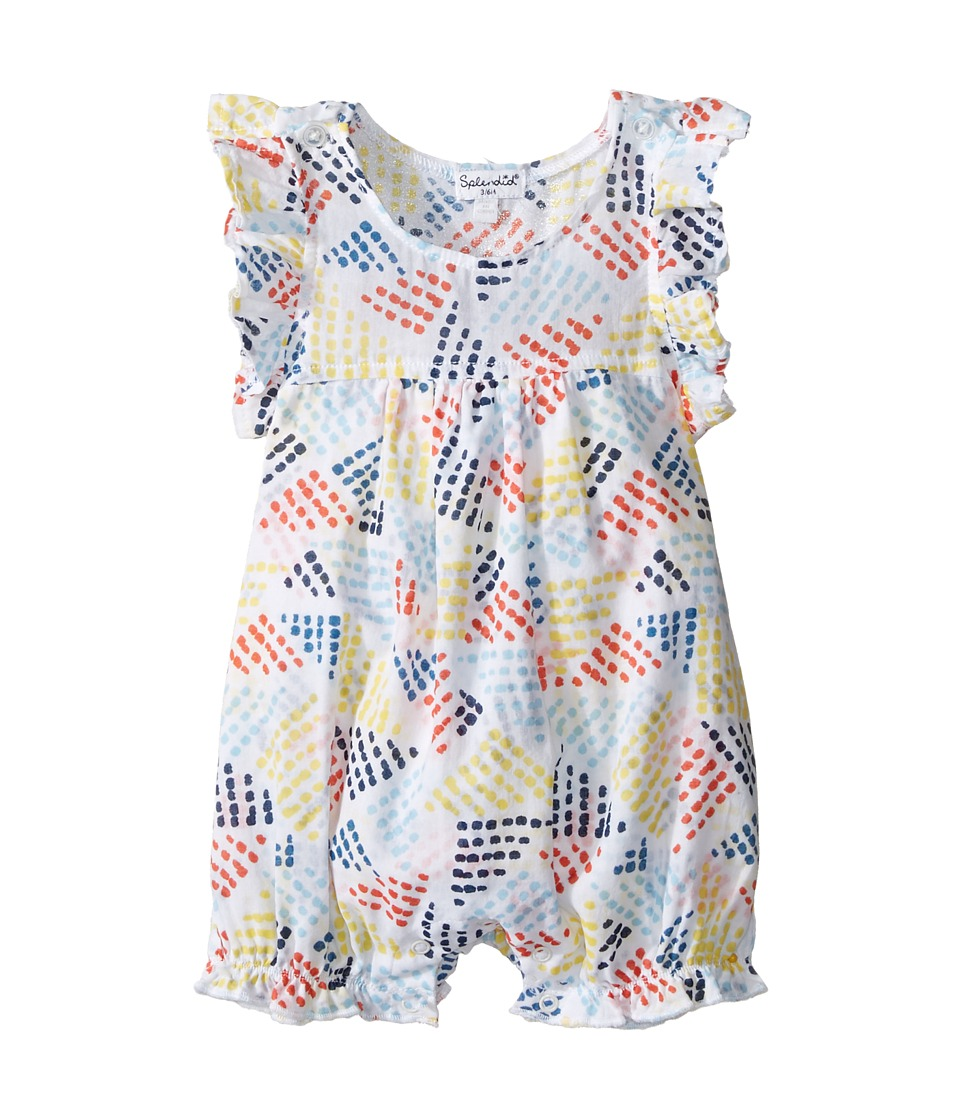 Splendid Littles - All Over Print Romper (Infant) (Print) Girl's Jumpsuit & Rompers One Piece
