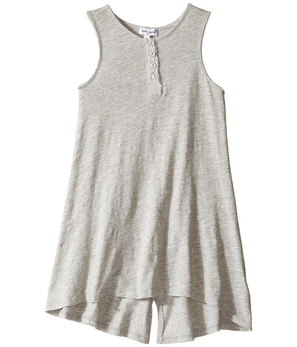 Splendid Littles - Henley Tank Dress (Toddler) (Grey Heather) Girl's Dress