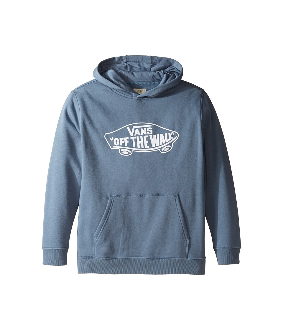 Vans Kids - OTW Pullover Feece Hoodie (Big Kids) (Blue Mirage/White) Boy's Sweatshirt