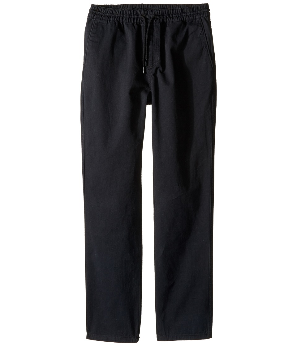 Vans Kids - Range Chino Pants (Big Kids) (Black) Boy's Casual Pants