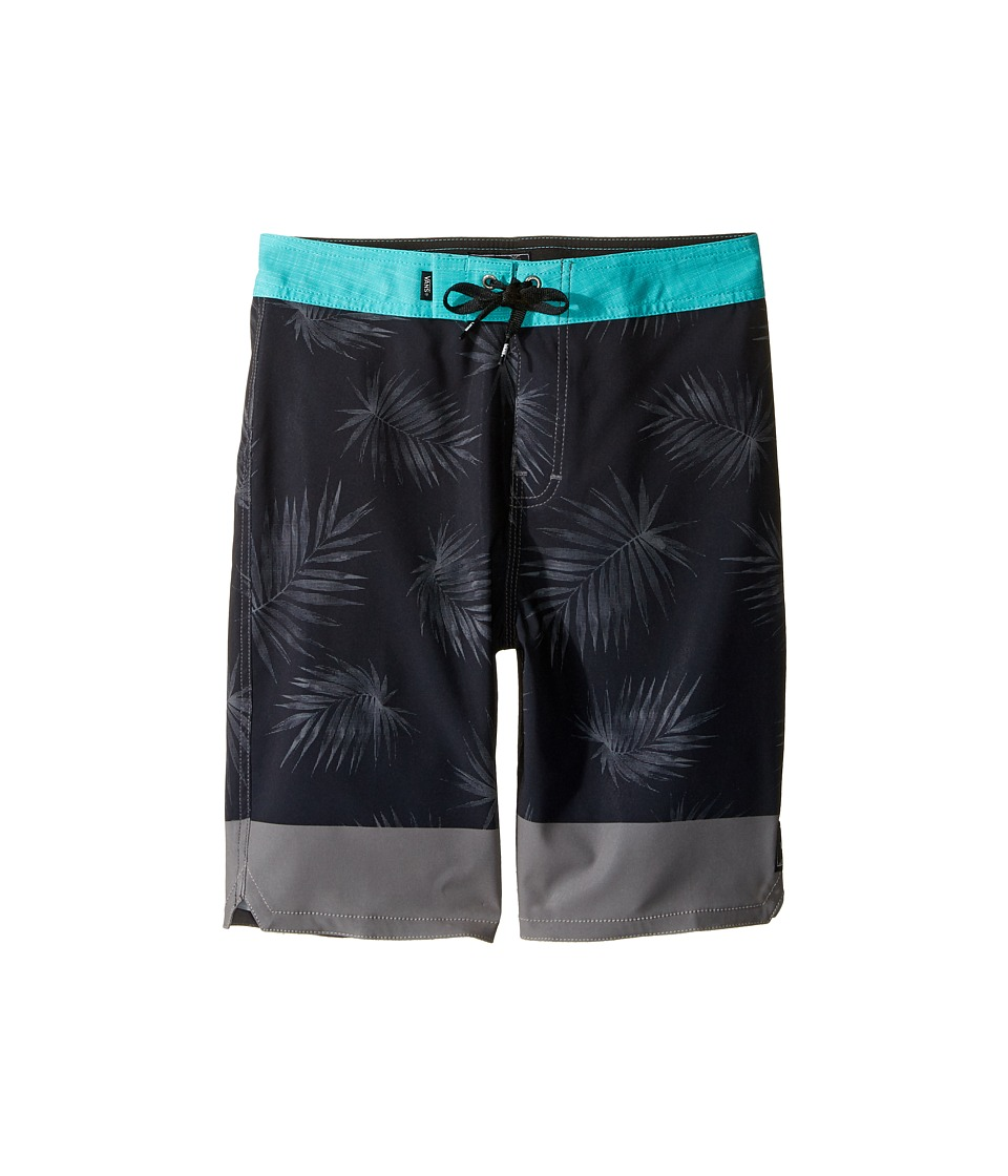 Vans Kids Valley View Stretch Boardshorts (Little Kids/Big Kids) (Black) Boy