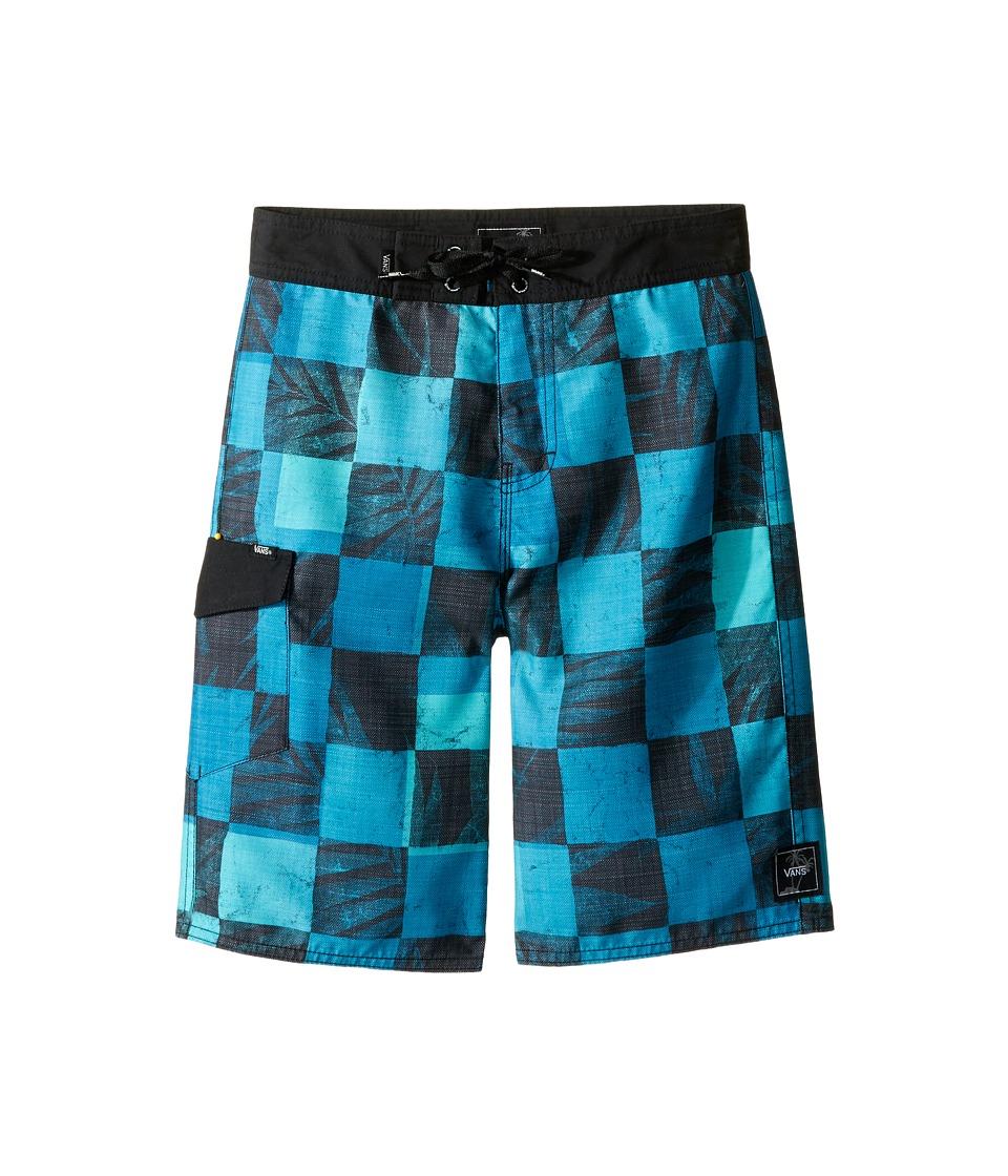 Vans Kids - Check Yourself Boardshorts (Little Kids/Big Kids) (Imperial Blue) Boy's Swimwear