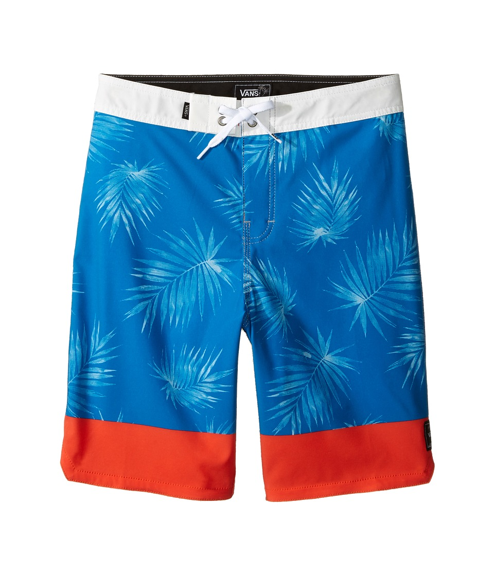 Vans Kids - Valley View Stretch Boardshorts (Little Kids/Big Kids) (Imperial Blue) Boy's Swimwear