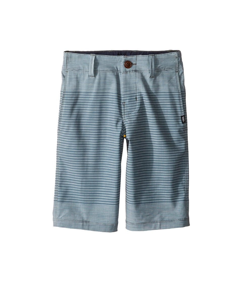 Vans Kids - Gaviota Stripe Hybrid Shorts (Little Kids/Big Kids) (Dark Slate) Boy's Shorts