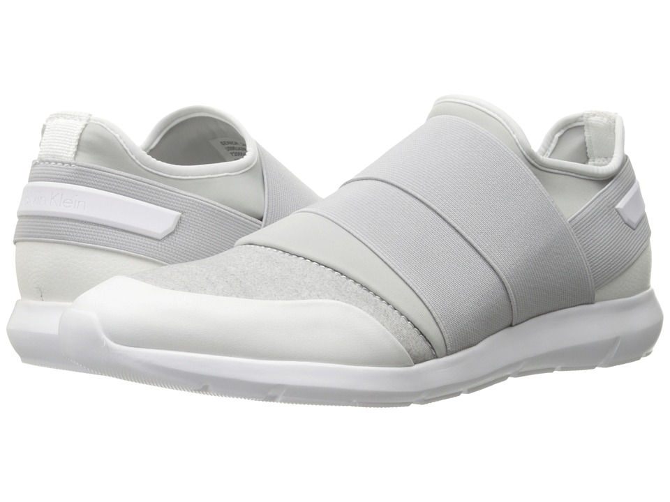Calvin Klein - Senior (White/Steel) Men's Shoes