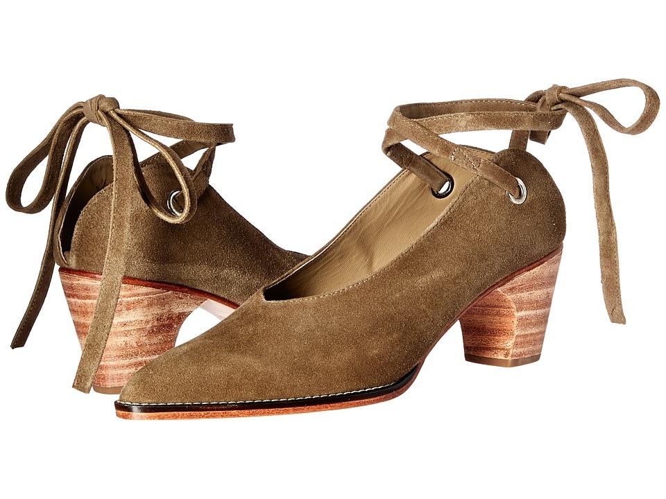 Rachel Comey - Fonda (Olive Suede) Women's Shoes