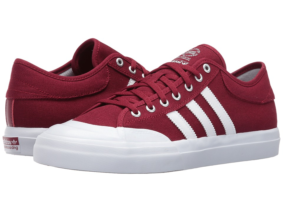 adidas - Matchcourt (Burgundy/White/Gum) Men's Shoes