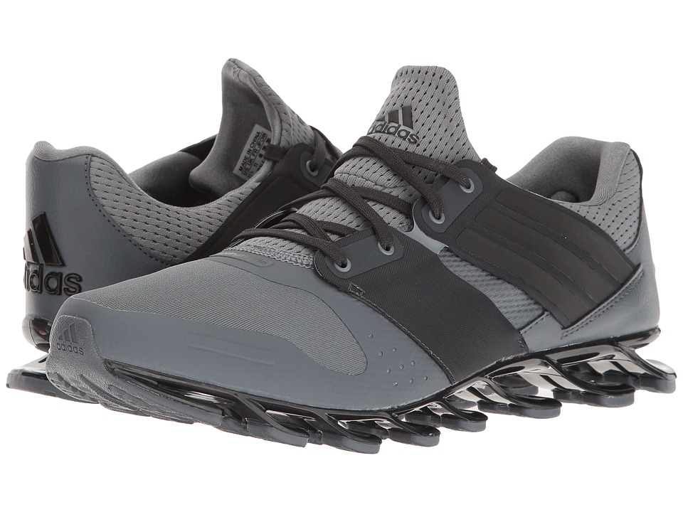 adidas - Springblade Solyce (Grey/Black/Royal) Men's Shoes