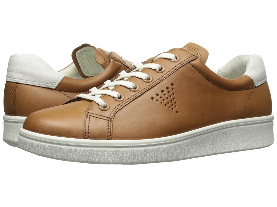 ECCO - Soft 4 Sneaker (Cashmere/White) Women's Shoes