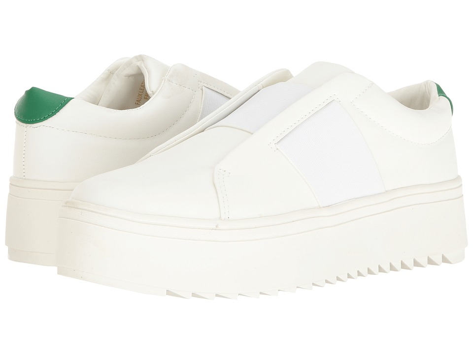 LFL by Lust For Life - Battle (White) Women's Slip on Shoes