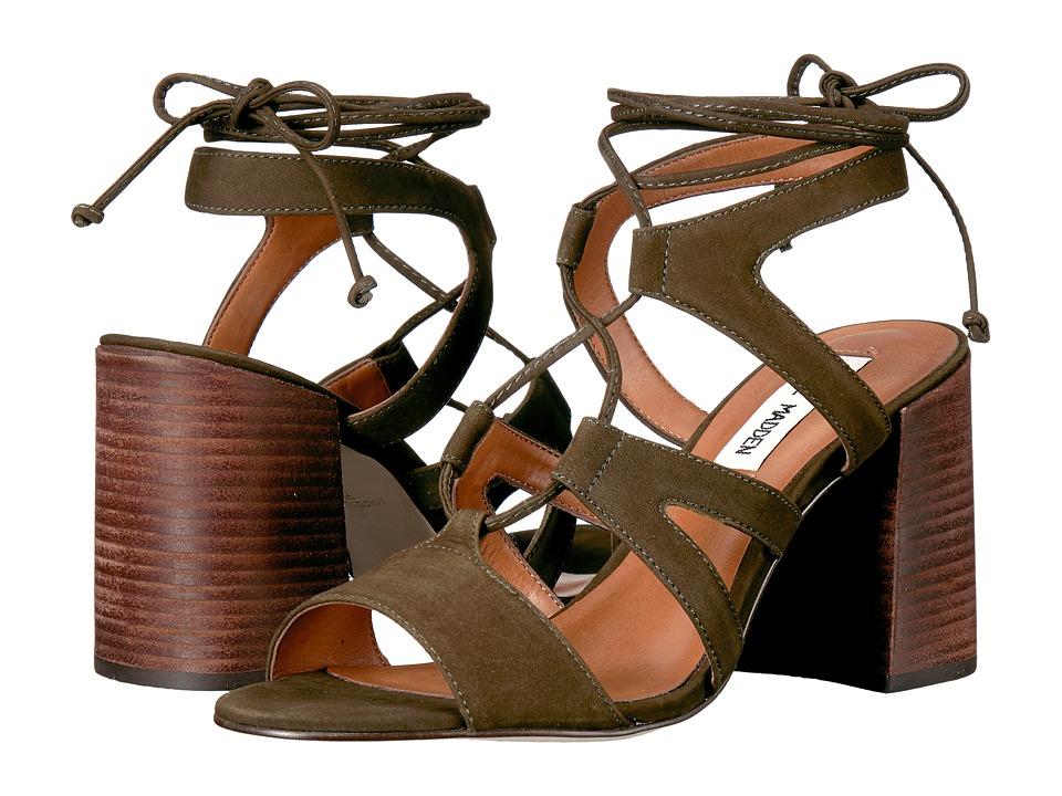 Steve Madden - Spindle (Olive Nubuck) High Heels