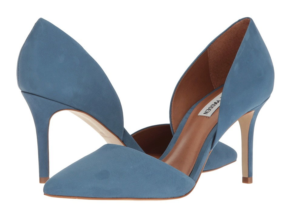 Steve Madden Actorr (Blue Nubuck) High Heels