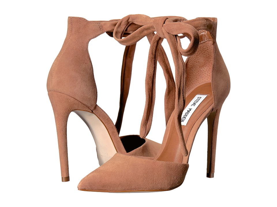 Steve Madden - Tracie (Tan Suede) High Heels
