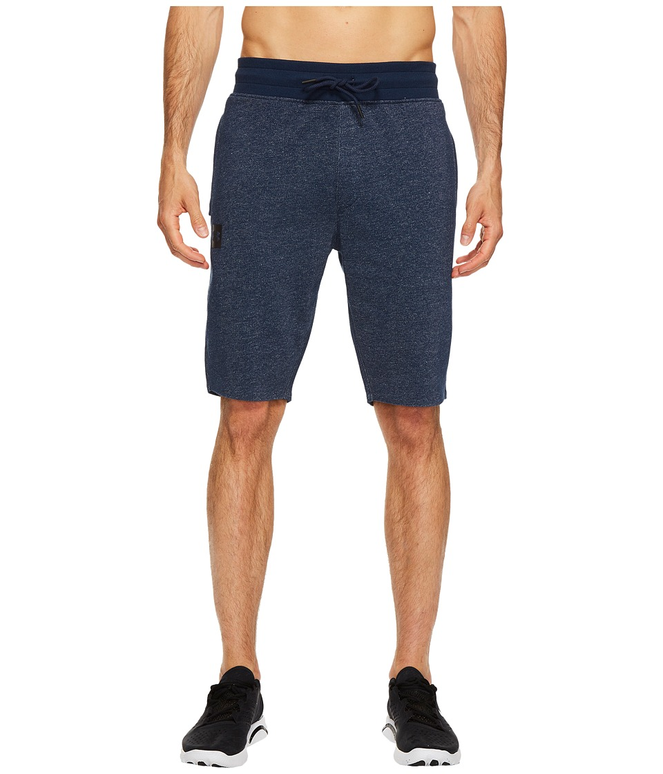 Under Armour - Sportstyle Terry Tapered Shorts (Academy/Black) Men's Shorts