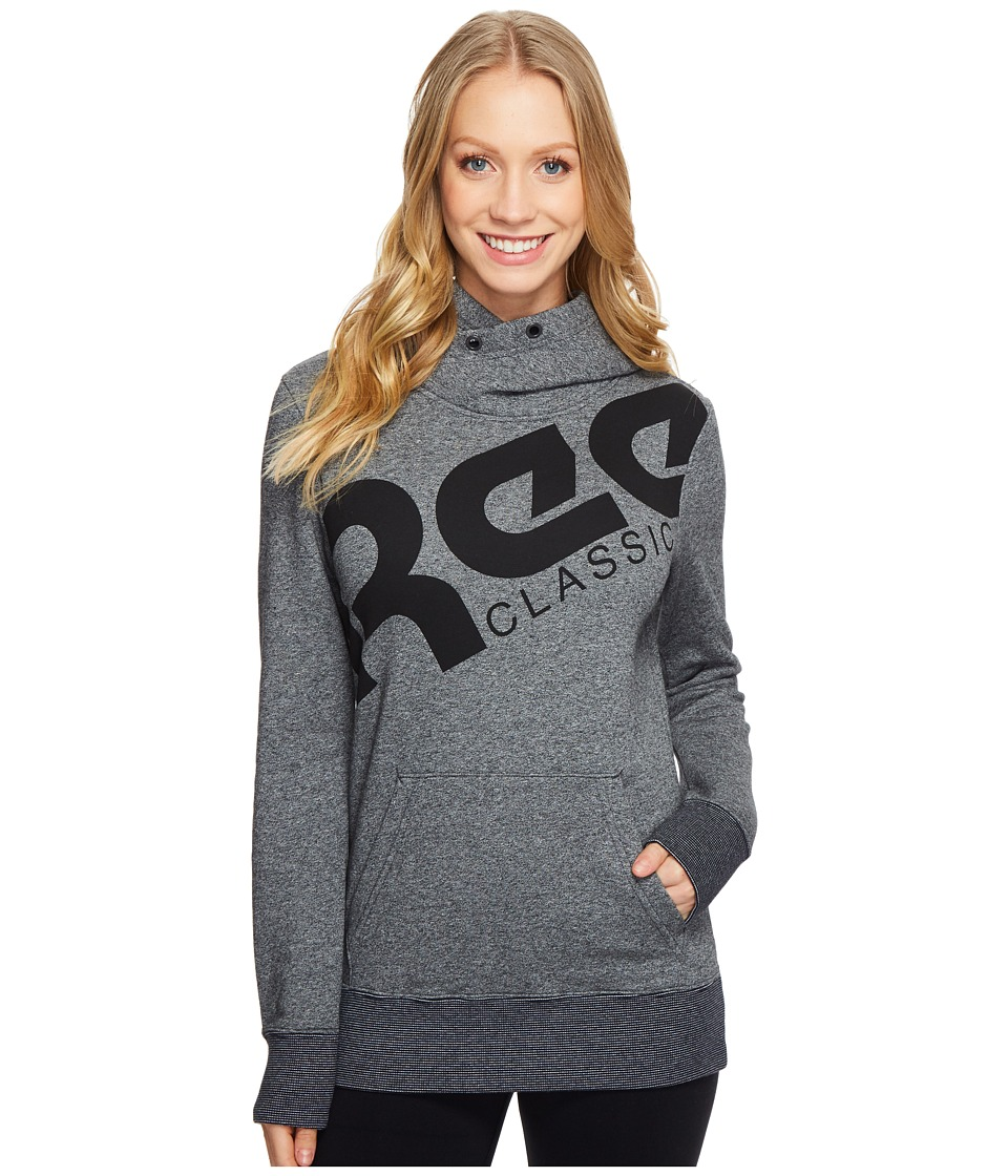 Reebok - F Fleece Ree Oth Hoodie (Grey) Women's Sweatshirt
