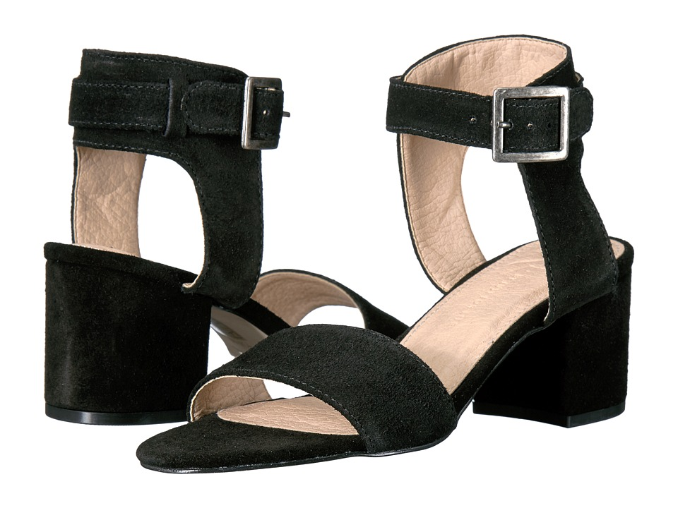 LFL by Lust For Life - Saxon (Black Suede) High Heels