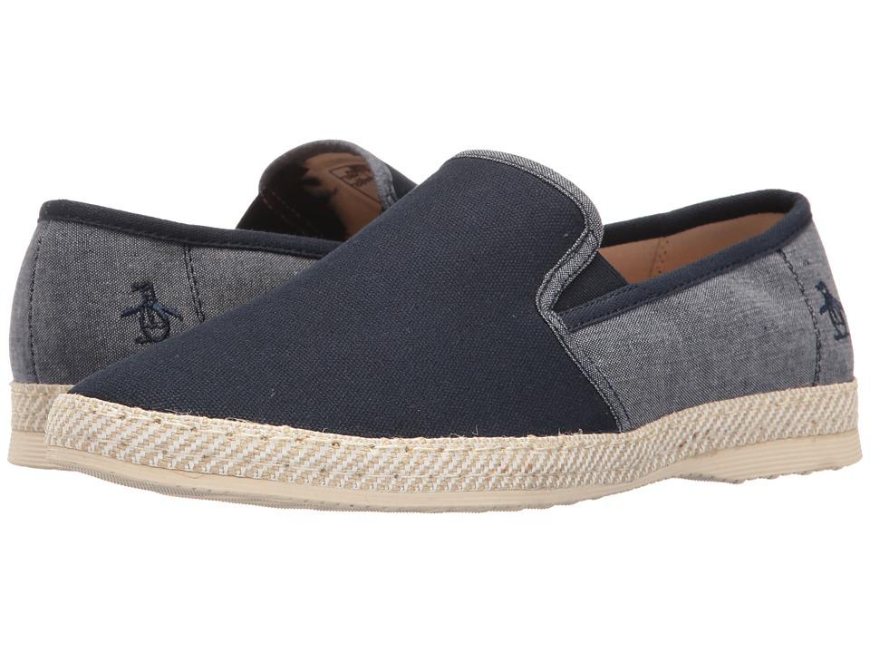 Original Penguin - Carson (Navy) Men's Slip on Shoes