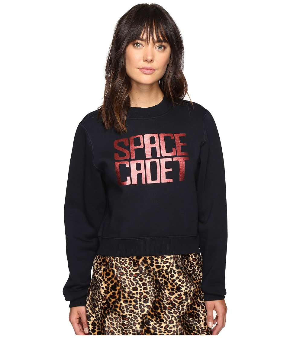 HOUSE OF HOLLAND - Space Cadet Foil Print Sweatshirt (Navy) Women's Sweatshirt
