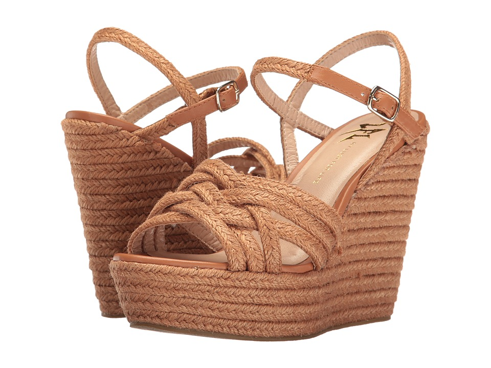 LFL by Lust For Life - Lazer (Cognac Rope) Women's Wedge Shoes