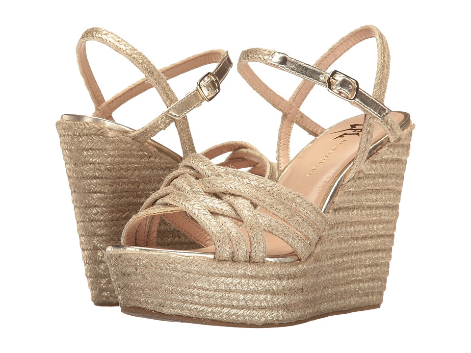 LFL by Lust For Life - Lazer (Gold Rope) Women's Wedge Shoes