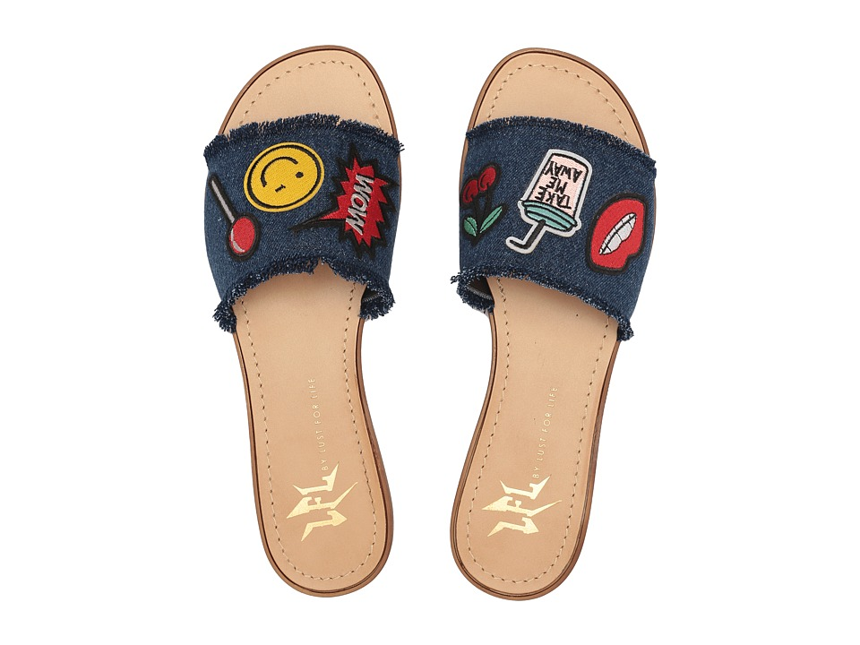 LFL by Lust For Life - Slide (Denim) Women's Shoes