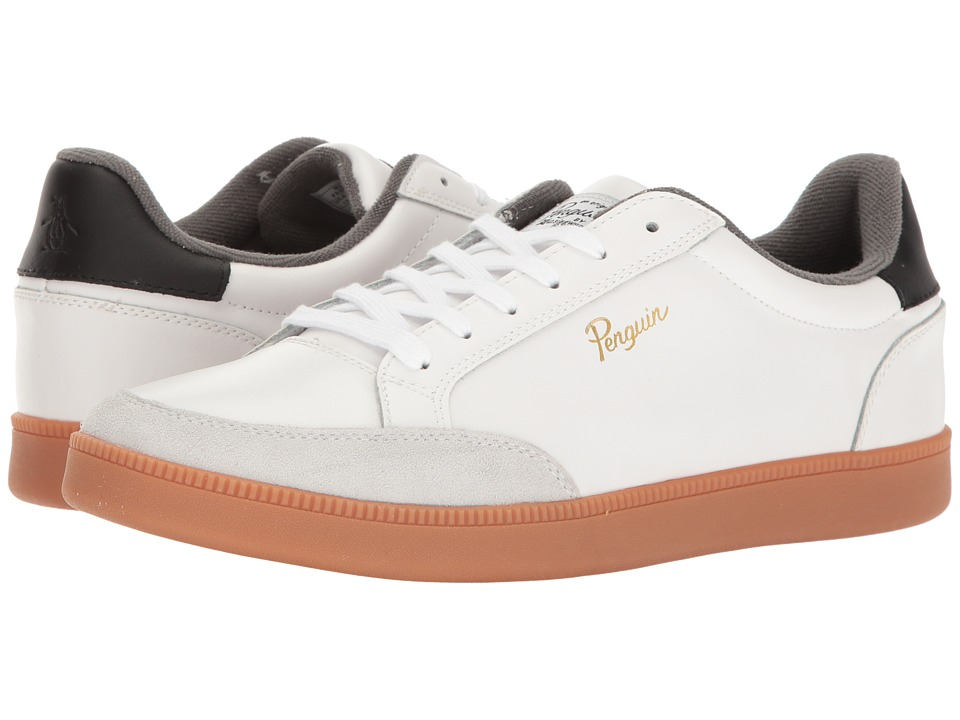 Original Penguin - Braylon (White) Men's Lace up casual Shoes