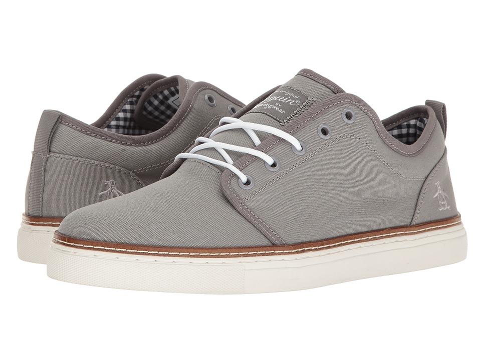 Original Penguin - Carlin (Grey) Men's Lace up casual Shoes
