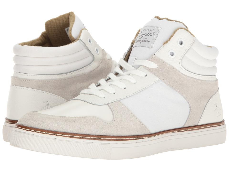 Original Penguin - Byron (White) Men's Lace up casual Shoes