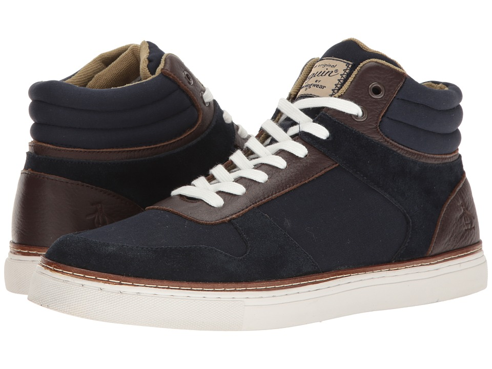 Original Penguin - Byron (Navy/Brown) Men's Lace up casual Shoes