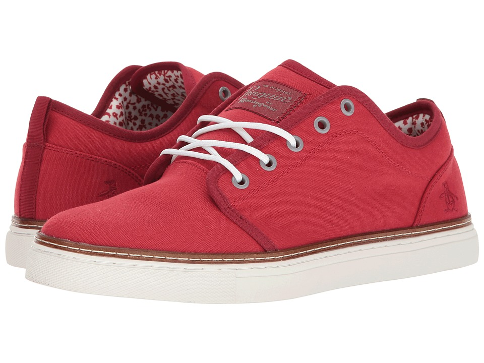 Original Penguin - Carlin (Red) Men's Lace up casual Shoes