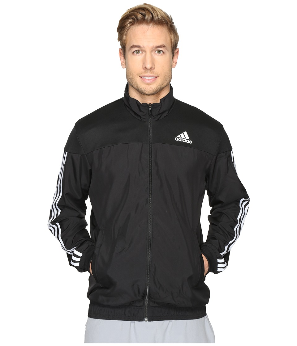 adidas - Club Jacket (Black/White 1) Men's Coat