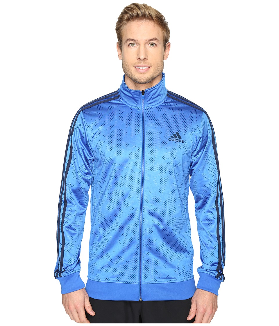 adidas - Essential Track Jacket (Blue/Navy) Men's Coat