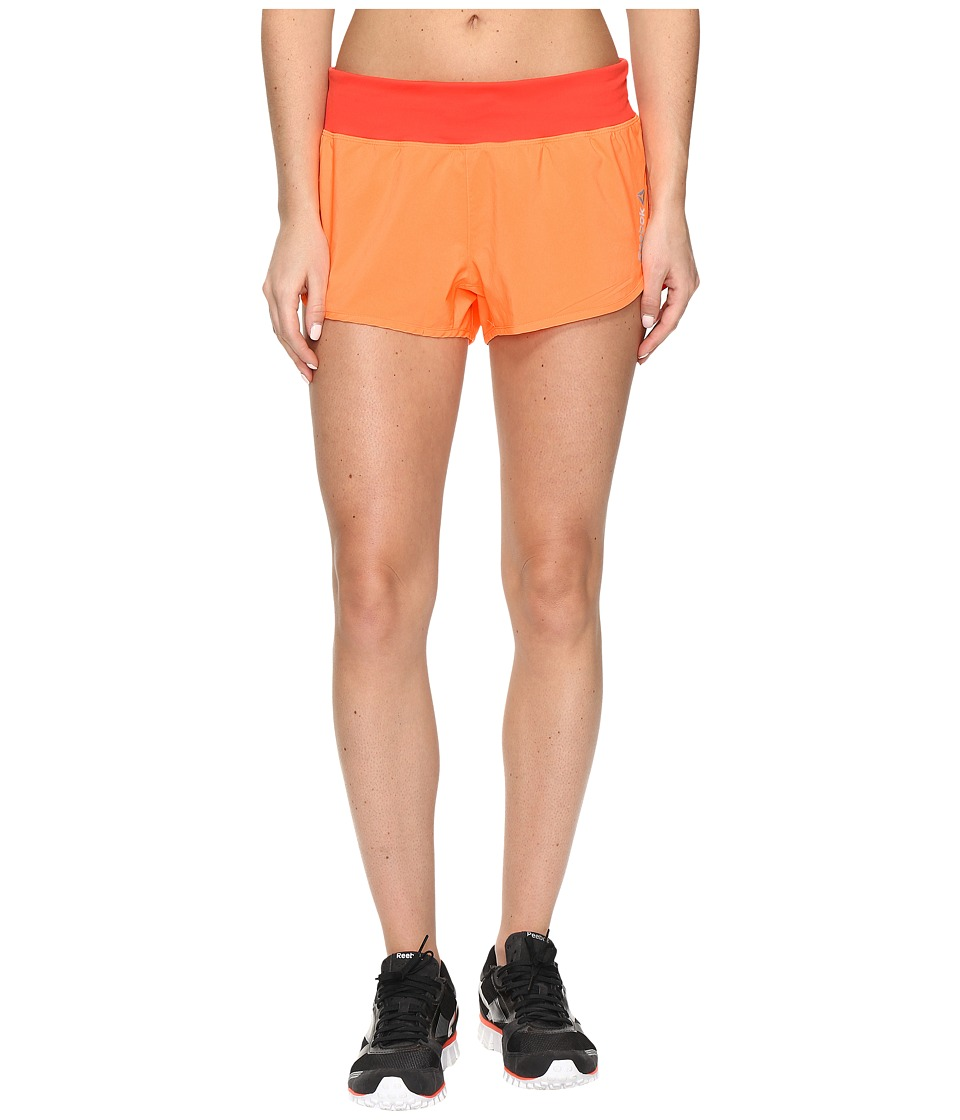 Reebok - LM Shorts (Orange) Women's Shorts